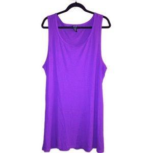 Size 3 purple Torrid tank top